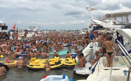 Raft-Off Lake St. Clair 2015
