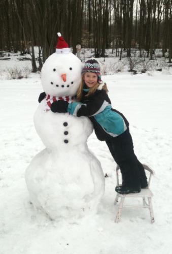 Storm-Snow-Man